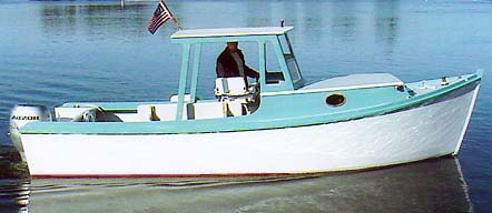 My own design Dory, based on Brockway skiff